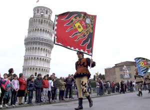 Pisa - New Year's Celebration on March, 25.